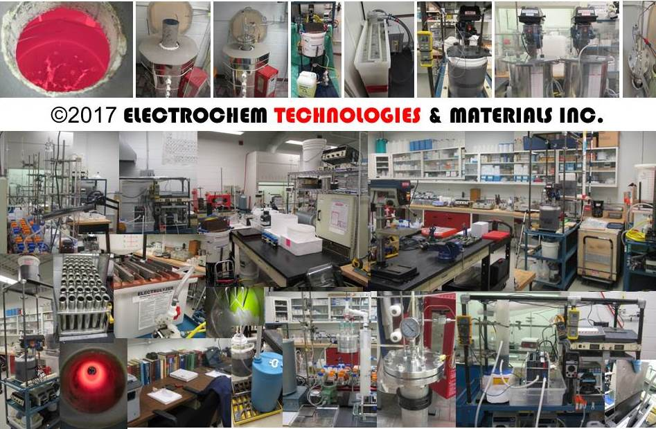 ELECTROCHEM TECHNOLOGIES & MATERIALS INC. - R&D LABS
